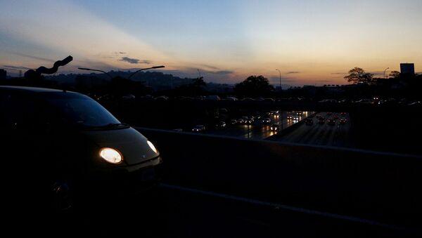 Autostrada di Caracas il terzo giorno di blackout - Sputnik Italia