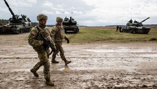 Soldati americani alle esercitazioni NATO in Polonia - Sputnik Italia