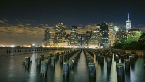 Вид на город Нью-Йорк - Sputnik Italia