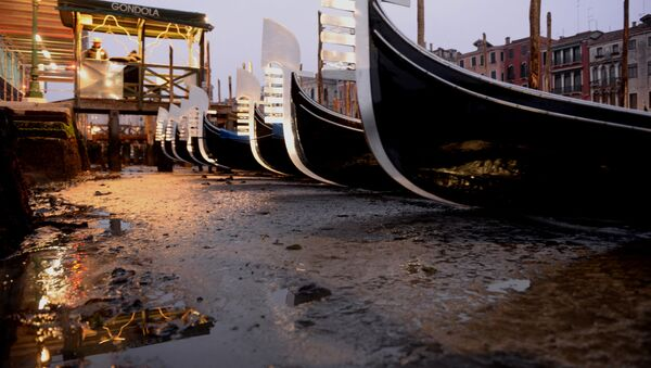 Siccità a Venezia - Sputnik Italia
