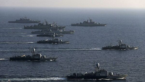 Le esercitazioni della flotta dell'Iran - Sputnik Italia