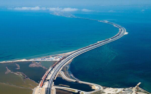 Il ponte sullo stretto di Kerch - Sputnik Italia