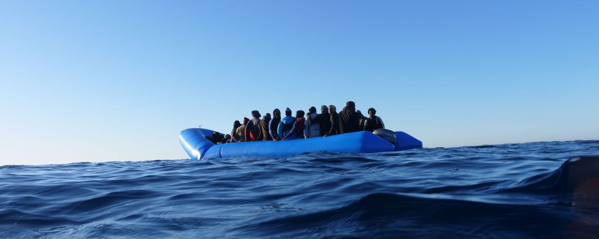 Migranti dalla Mare Jonio - Sputnik Italia, 1920, 21.05.2021