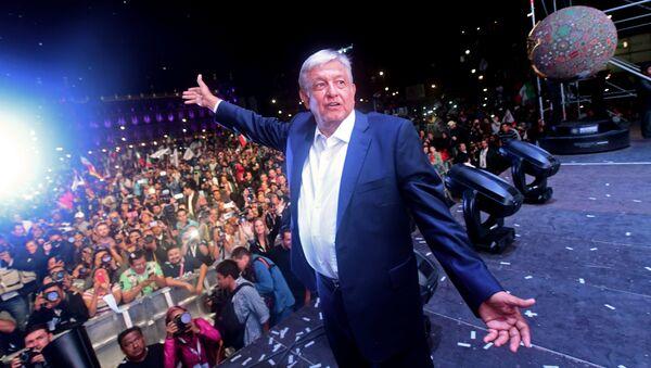 Il presidente messicano Andres Manuel Lopez Obrador - Sputnik Italia