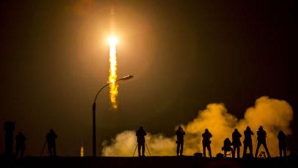 Il lancio della Soyuz TMA-16M da Baikonur - Sputnik Italia