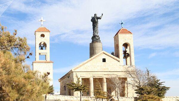 La statua più alta di Gesù Cristo in Siria - Sputnik Italia