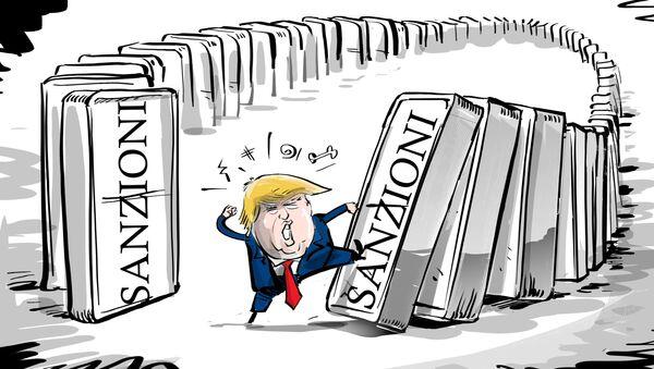 Chi non domina il domino... - Sputnik Italia