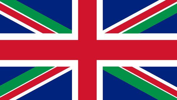 Tricolore italiano nella bandiera UK - Sputnik Italia