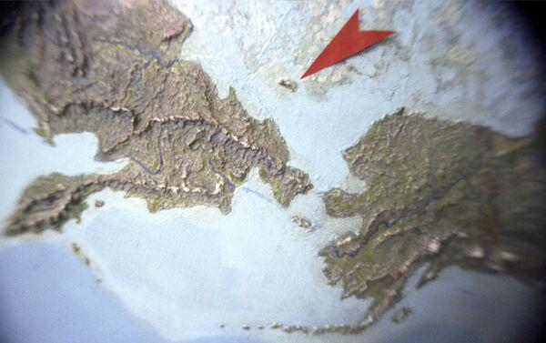 L'isola di Wrangel sulla mappa - Sputnik Italia