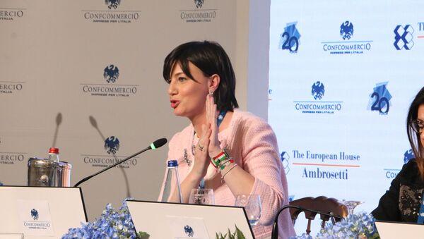Lara Comi, vicepresidente del Gruppo Ppe all'Europarlamento - Sputnik Italia