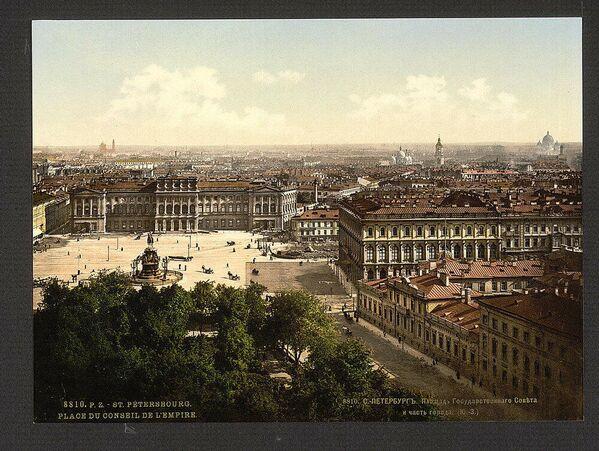 Veduta di San Pietroburgo nel 1890 - Sputnik Italia