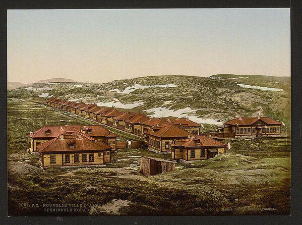La città di Aleksandrovsk na Murmane (oggi Polyarniy), fondata nel 1896 nella penisola di Kola - Sputnik Italia
