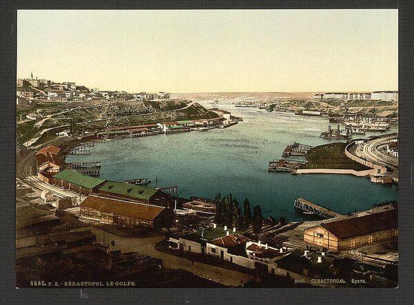 Veduta di Sebastopoli nel 1885 - Sputnik Italia