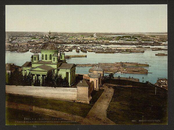 Ancora Nizhny Novgorod, il monastero dell'Annunciazione - Sputnik Italia