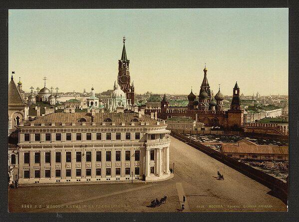 La Piazza dello Zar nel Cremlino di Mosca - Sputnik Italia
