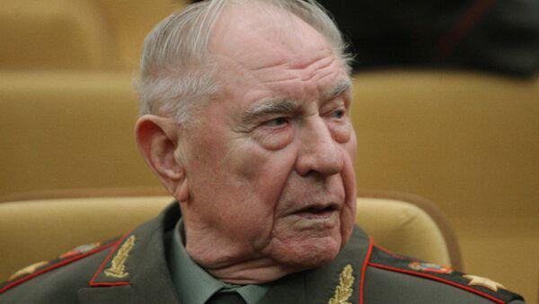 Экс-министр обороны СССР Дмитрий Язов, архивное фото - Sputnik Italia