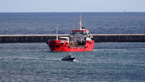 Il mercantile Elhiblu 1 approda a Malta - Sputnik Italia
