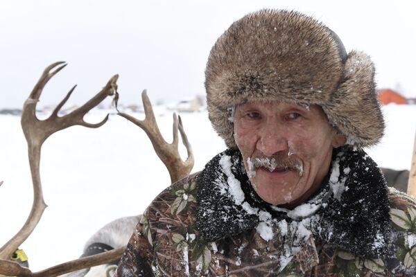 L'eroe della festa: un allevatore di rennе - Sputnik Italia