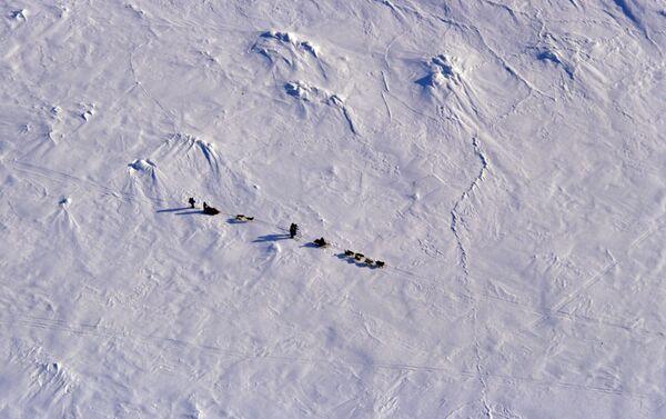 Attraversamento a piedi dello Stretto di Bering ghiacciato - marzo 1989 - Sputnik Italia