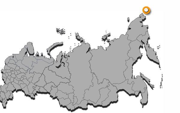 Stretto di Bering, localizzazione schematizzata - Sputnik Italia