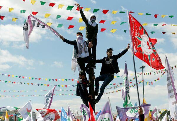 La celebrazione di Novruz ad Istanbul. - Sputnik Italia