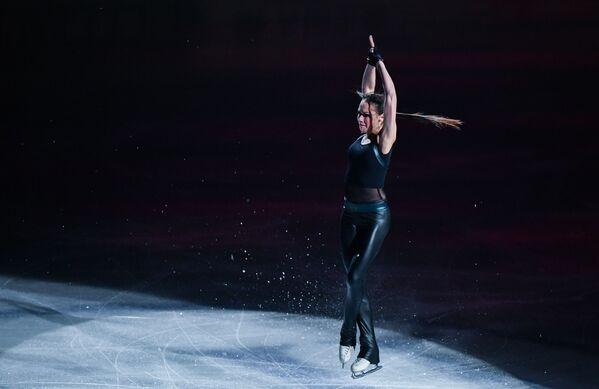 La pattinatrice russa Alina Zagitova durante i mondiali 2019 a Saitama, Giappone. - Sputnik Italia