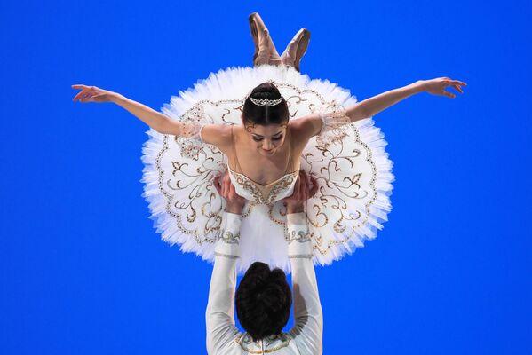 Il concorso dei giovani ballerini Il balletto russo  a Mosca. - Sputnik Italia