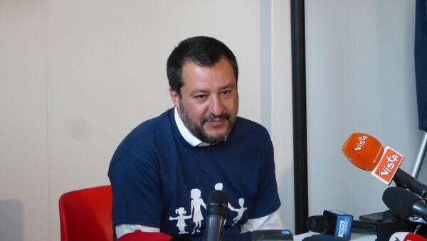 Matteo Salvini al Congresso Mondiale della Famiglia a Verona  - Sputnik Italia