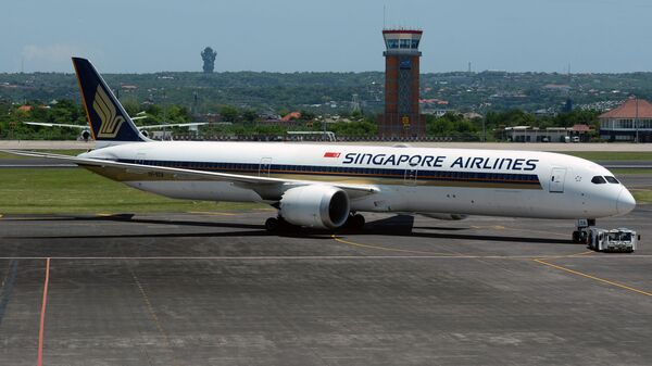 Un Boeing 787-10 Dreamliner della Singapore Airlines - Sputnik Italia