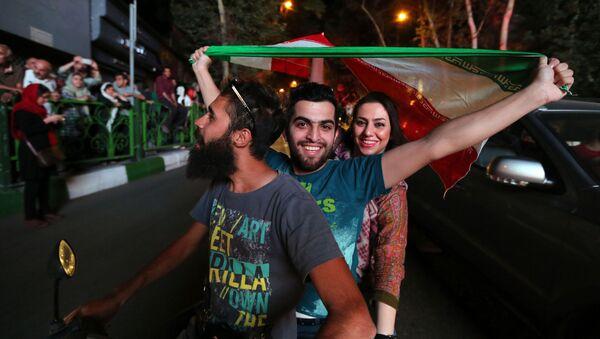 Celebrazioni dell'accordo nucleare a Teheran - Sputnik Italia