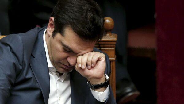 """Шl premier Alexis Tsipras ha deciso di """"procedere il più rapidamente possibile al rimpasto di governo entro pochissimi giorni - Sputnik Italia"""