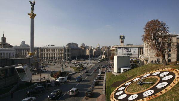 Вид на площадь Независимости в Киеве - Sputnik Italia