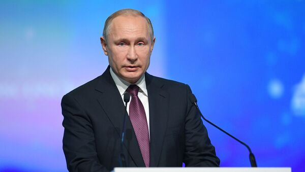 Vladimir Putin al Forum Artico Internazionale - Sputnik Italia
