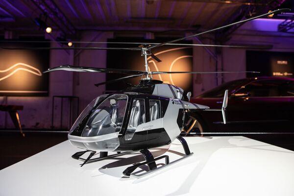Il modello in scala 1:10 presentato a Milano nello showroom Italdesign - Sputnik Italia