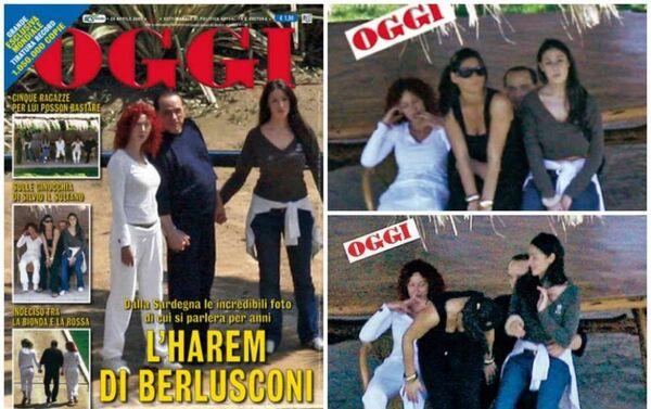 La copertina del settimanale OGGI con le foto incriminate scattate da Antonello Zappadu - Sputnik Italia