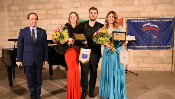 """Al concerto di musica lirica """"La Puglia abbraccia la Russia"""" - Sputnik Italia"""