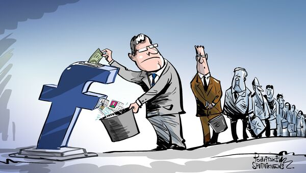 Facebook usava i dati degli utenti per battere la concorrenza - Sputnik Italia