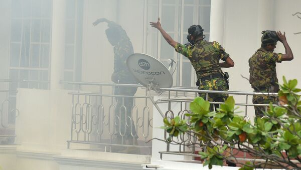 Blitz della polizia dopo l'esplosione in Sri Lanka - Sputnik Italia