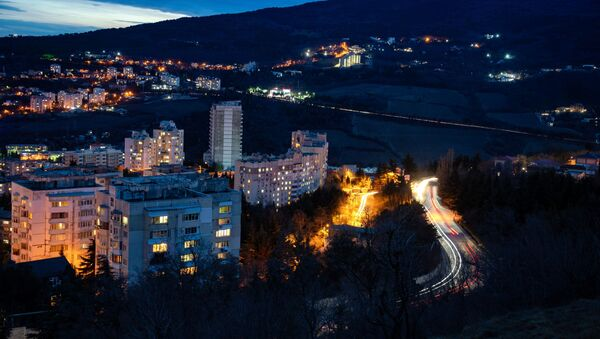 La vista di Yalta, Crimea - Sputnik Italia