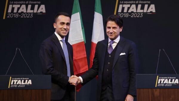 Giuseppe Conte e Luigi Di Maio - Sputnik Italia