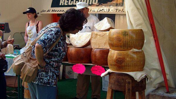 Il festivale del Parmigiano Reggiano a Modena. - Sputnik Italia