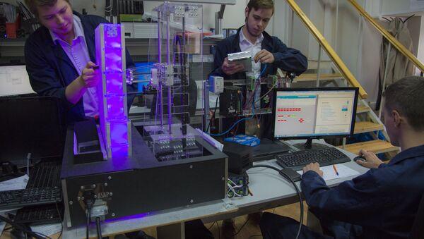 I ricercatori russi al lavoro sul sistema Shield - Sputnik Italia