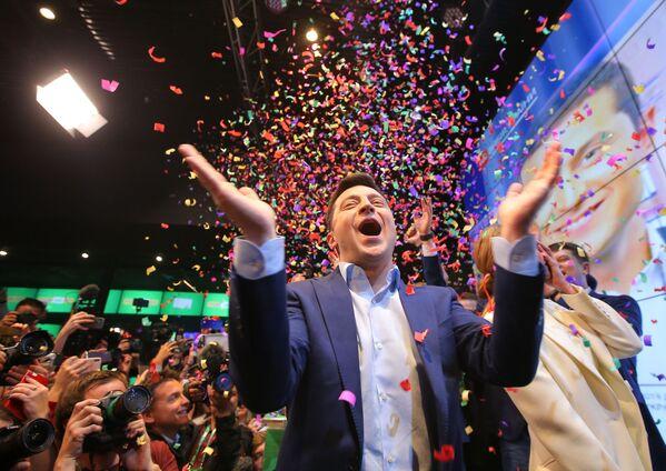 Il nuovo presidente ucraino Vladimir Zelensky. - Sputnik Italia