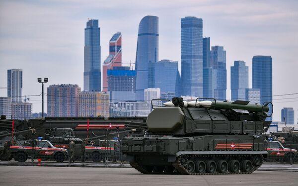 Le prove per la Parata della Vittoria a Mosca. - Sputnik Italia