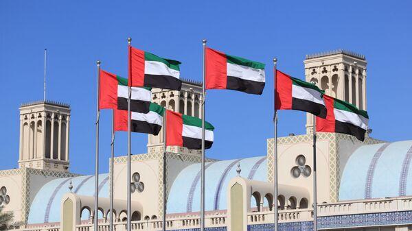 Bandiere Emirati Arabi Uniti - Sputnik Italia
