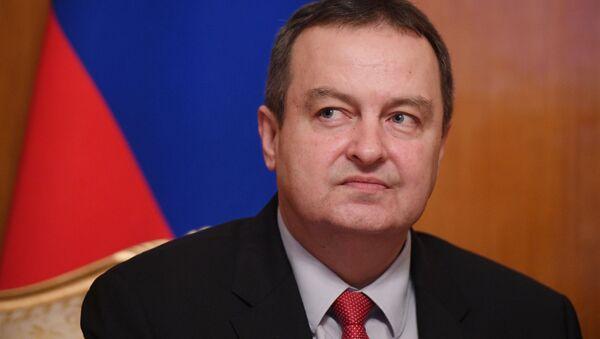 Il Ministro degli Esteri di Serbia Ivica Dačić - Sputnik Italia