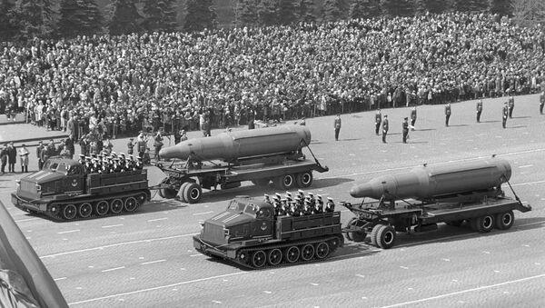 Parata militare a Mosca, 1967 - Sputnik Italia