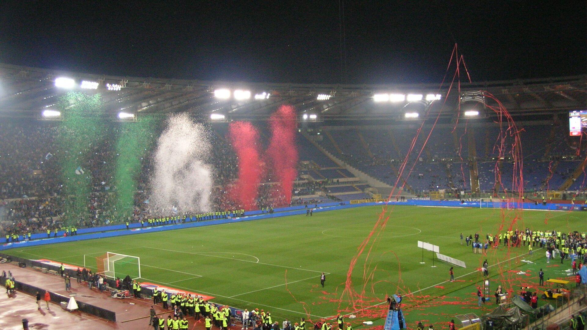 Lo stadio Olimpico di Roma dopo la finale di Coppa Italia - Sputnik Italia, 1920, 07.07.2021