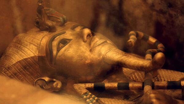 Il sarcofago del faraone Tutankhamon - Sputnik Italia