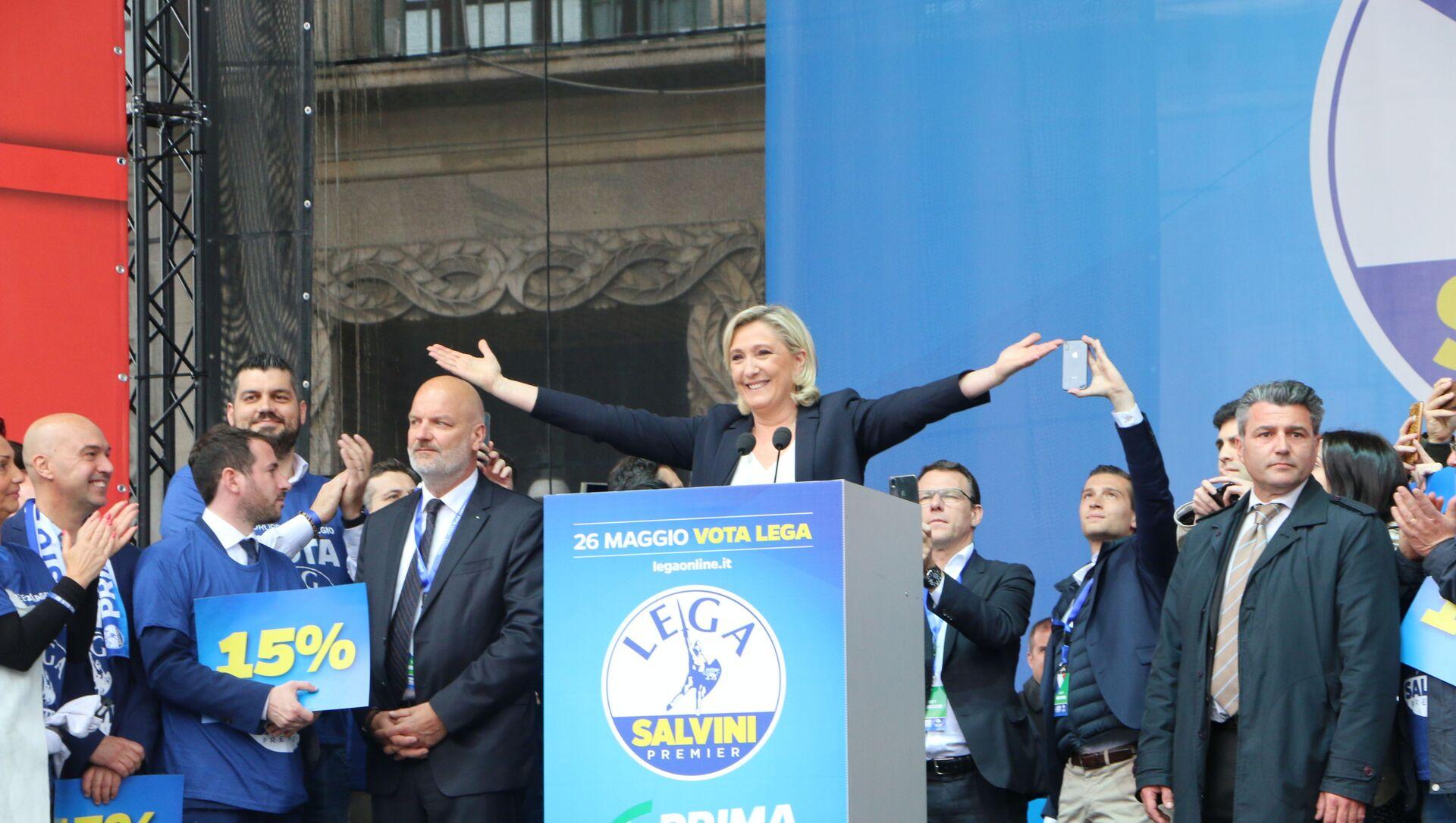 Marine Le Pen - Sputnik Italia, 1920, 27.04.2021